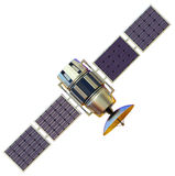 Satellit Royaltyfria Foton