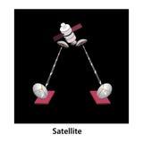 satellit Lizenzfreies Stockfoto