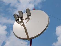 Satellit- antenn Arkivfoton