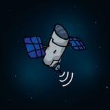 Satellit- design Royaltyfri Foto