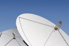 satellit för 6 maträtt Fotografering för Bildbyråer