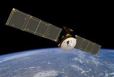 satellit för kommersiell kommunikation Arkivbilder