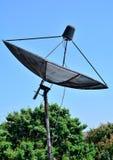 Satellit för kommunikationsutrustning arkivfoton