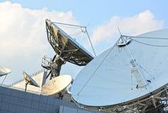 Satellit- maträtt Arkivfoton