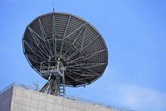 Satellit- maträtt Royaltyfri Bild