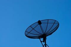 Satellit- maträtt Arkivbild