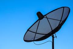 Satellit- maträtt Royaltyfria Foton