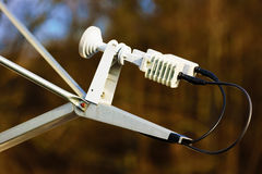 Satellit- mottagare Fotografering för Bildbyråer