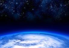 Satellit- sikt för tyfon Royaltyfri Fotografi