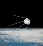 satellit sputnik Arkivbild
