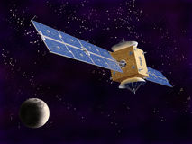 satellitavstånd vektor illustrationer