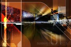 Satellite Image libre de droits
