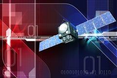 Satellite Image stock