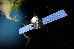 Satellite Royalty Free Stock Photo