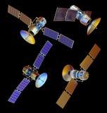 Satellite Immagini Stock Libere da Diritti