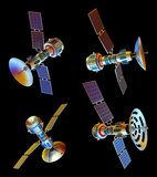 Satellite Immagine Stock