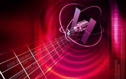 Satellite Royalty Free Stock Photography