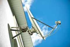 Satellite antenna Royalty Free Stock Photography