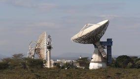 Satellite antenna for broadcasting communication signals, Parabolic antenna, Kenya,