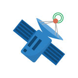 Satellite antenna communication global wireless. Illustration eps 10 Stock Photos