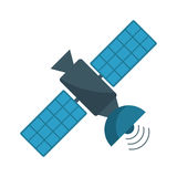 Satellite antenna communication wireless. Illustration eps 10 Royalty Free Stock Photos