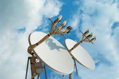 Satellite antenna Royalty Free Stock Photo