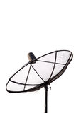 Satellite antenna on white background Stock Photography
