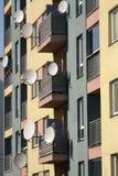 Satellite antennas Royalty Free Stock Photos