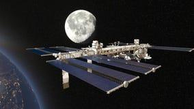 Satellite artificiale stock footage