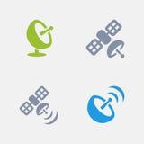 Satellite Broadcast - Granite Icons Stock Photography