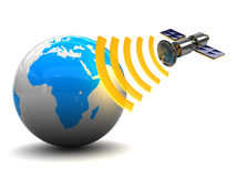 Satellite broadcasting Royalty Free Stock Photo