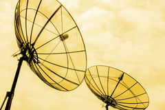 Satellite communication Stock Photography