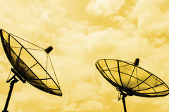 Satellite communication Royalty Free Stock Images