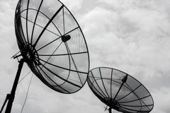 Satellite communication Royalty Free Stock Photography