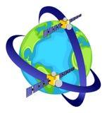 Satellite Communications Royalty Free Stock Photography