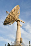 Satellite Communications Dish. University of Alaska Fairbanks - 2009 royalty free stock photography
