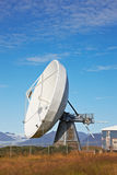 Satellite communications dish Royalty Free Stock Images