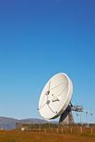 Satellite communications dish Royalty Free Stock Image