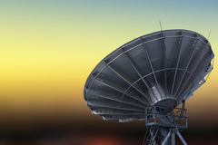 Satellite Communications Dishes Stock Images