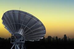 Satellite Communications Dishes Stock Photo