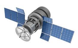 satellite 3d illustration stock