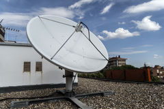 Satellite d'antenne Photo libre de droits