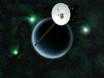 Satellite d'orbitale de transmissions illustration libre de droits