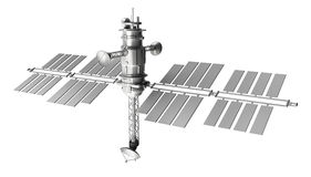 Satellite de l'espace Photo stock