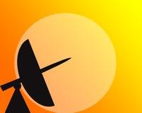 satellite de télécommunications Images libres de droits