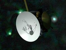 Satellite de télécommunications orbital illustration libre de droits