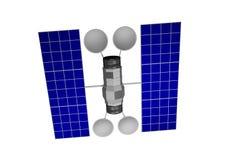 Satellite di comunicazione Fotografie Stock Libere da Diritti