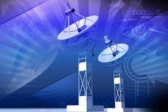 Satellite dish Stock Images