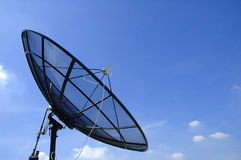 Satellite dish. With blue sky Stock Image