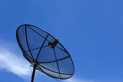 Satellite dish. This is Satellite dishes for television in thailand Stock Photo